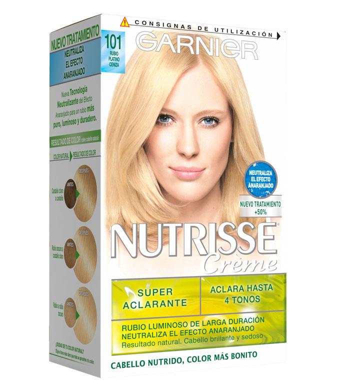 Garnier cheveux colorant platine blonde